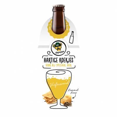 12395 - Dapeppa Hartige Koekjes Speciaal Bier