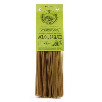 131215 - Morelli linguine garlic basil 250 gram
