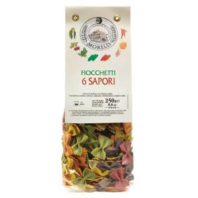 131224 - Morelli fiocchetti 6 sapori 250 gram