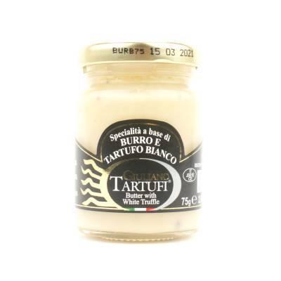 131306 - Giuliano Tartufi white truffle butter 75 gram