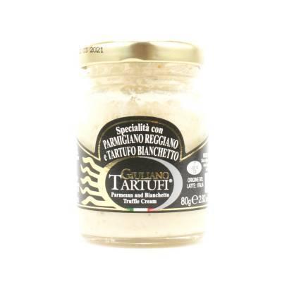131305 - Giuliano Tartufi parmesan cream truffle 80 gram