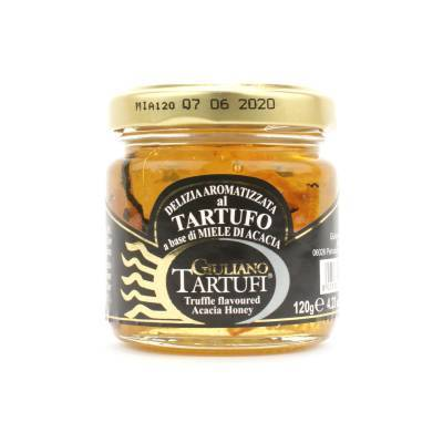 131309 - Giuliano Tartufi honey summer truffle 120 gram
