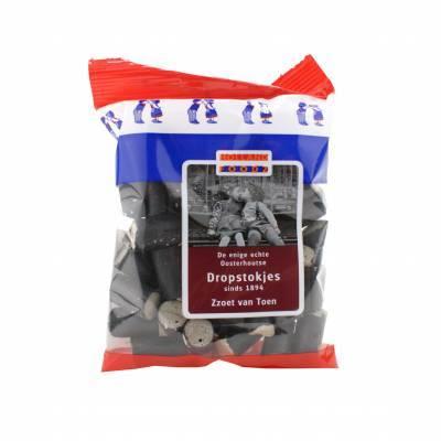 1483 - oosterhoutse dropstokjes 135 gr 135 gram