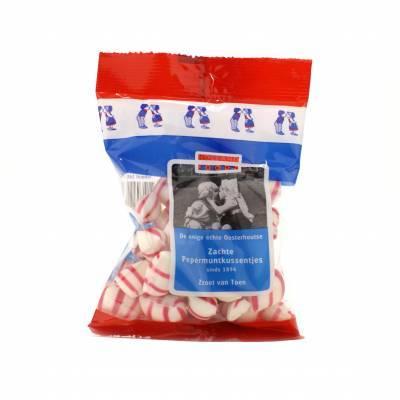 1485 - oosterhoutse pepermuntkussentjes 160 gr 160 gram