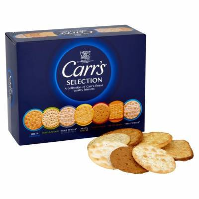 15904 - Carr's selection crackers 200 gram