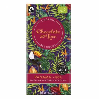 17056 - Chocolate and Love panama 80% 40 gram