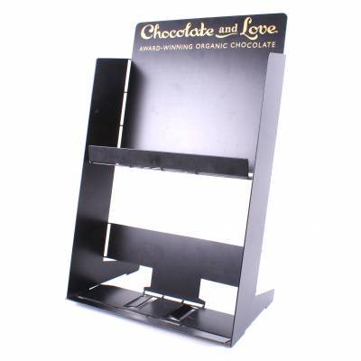 17153 - Chocolate and Love display table pos 6x6 duo 100 gram