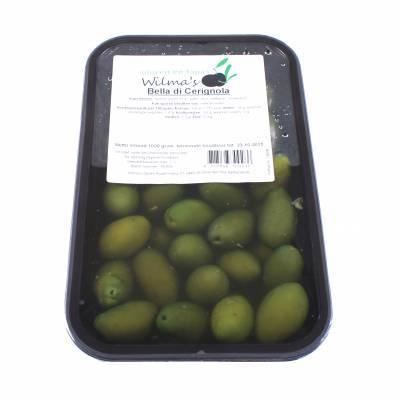 18006 - Wilma's Olijven bella di cerignola 1000 gram