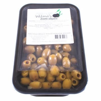 18057 - Wilma's Olijven zoete olijven 1200 gram