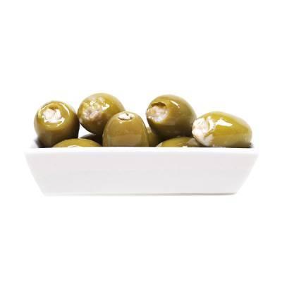 18106 - Wilma's Olijven jumbo geitenkaas olijven 1100 gram