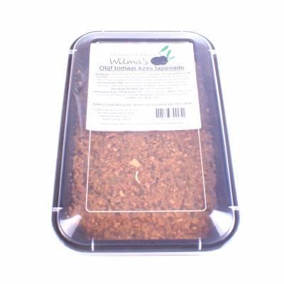 18154 - Wilma's Olijven olijf tomaat kaas tapenade 800 gram