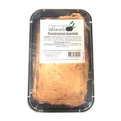 18156 - Wilma's Olijven peppersweet tapenade 800 gram