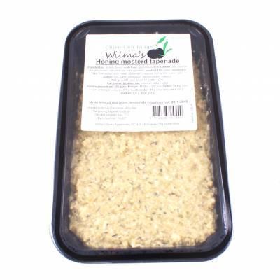 18160 - Wilma's Olijven honing mosterd tapenade 800 gram