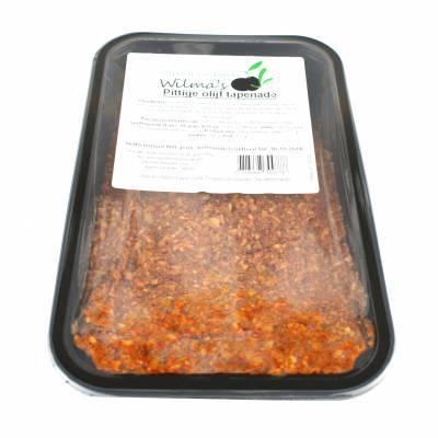 18162 - Wilma's Olijven pittige olijf tapenade 800 gram