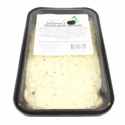 18164 - Wilma's Olijven groene pesto tapenade 800 gram