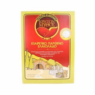 1969 - Cretan Mythos olijfolie 5L BAG-IN-BOX 5000 liter
