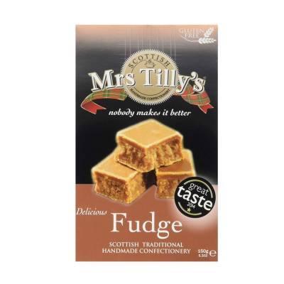 20800 - Mrs Tilly's vanilla fudge gift box 150 gram