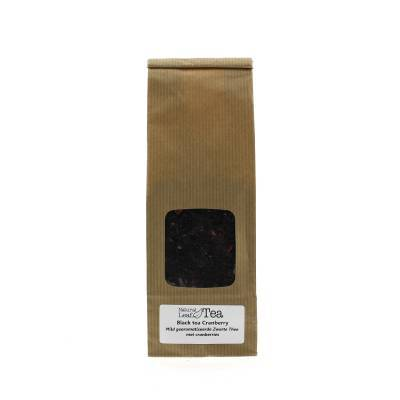 2172 - Natural Leaf Tea Black Tea Cranberry 90 g