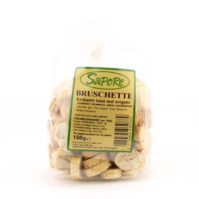 2350 - Sapore bruschette olijfolie 150 gr 150 gram