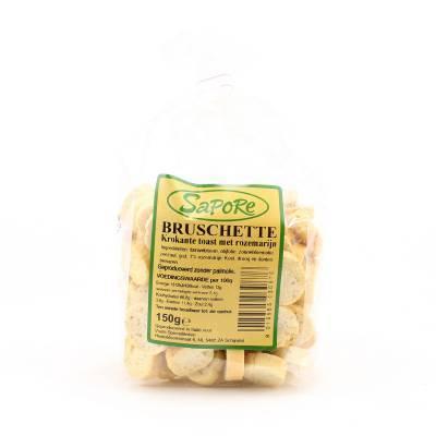 2352 - Sapore bruschette rozemarijn 150 gram