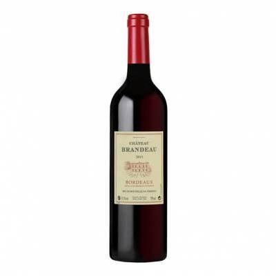 25301 - QB Vignobles Hermouet château brandeau bordeaux 750 ml
