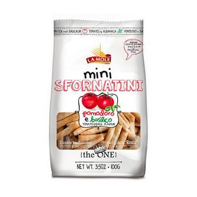 2589 - La Mole sfornatini mini pizza 100 gram