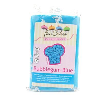 6944 - Cake Supplies Smaakfondant Bubblegum Blauw 250 gram