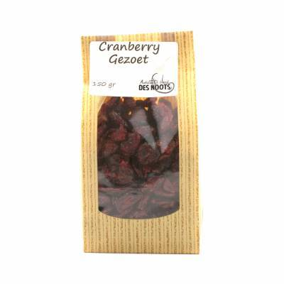 3045 - Des Noots cranberries gezoet 150 gram