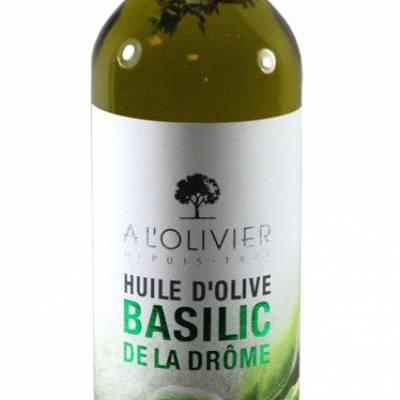 2994 - A l'Olivier olijfolie extra vergine met basilcum 250 ml