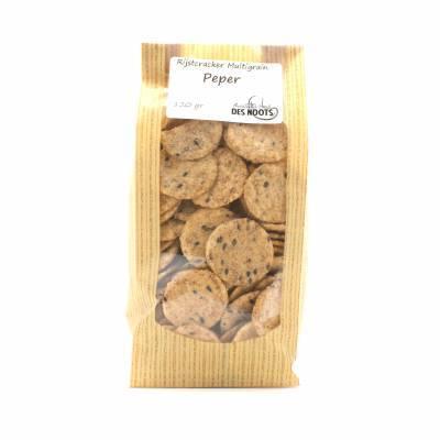 3101 - Des Noots rijstcracker multigrain peper 120 gram
