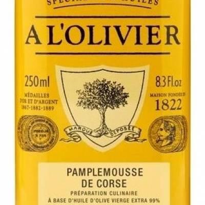 7861 - A l'Olivier olijfolie grapefruit 250 ml