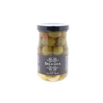 3234 - Delicious Food and Gourmet spanish olive mix 212 ml