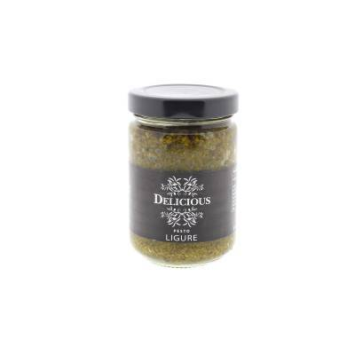 3235 - Delicious Food and Gourmet groene pesto 156 ml