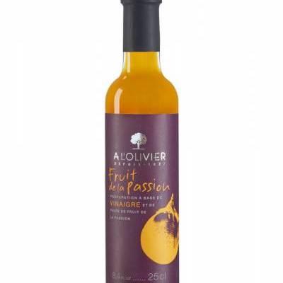 2943 - A l'Olivier fruitpulpazijn passievrucht 250 ml