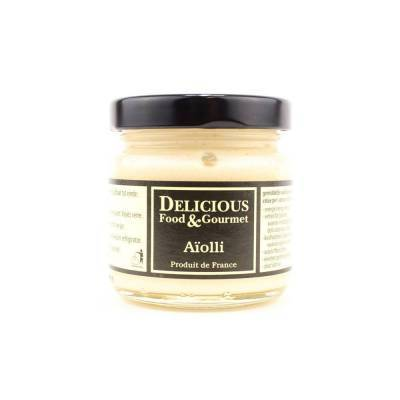 3257 - Delicious Food and Gourmet aïolli - knoflook saus 106 ml