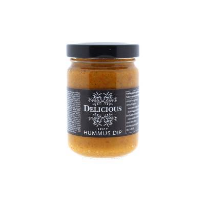 3274 - Delicious Food and Gourmet hummus pikant 156 ml