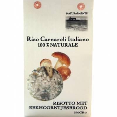8500 - Naturalmente risotto met gedroogd eekhoorntjesbrood 300 gram