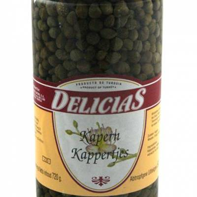8204 - Delicias kappertjes non pareilles 720 gram