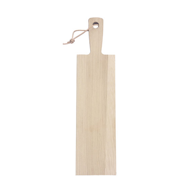 3872 - Liv 'n Taste eiken plank handvat koord 80 x 20 cm 1 stuk