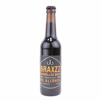 3974 - Braxzz Barreled Bock Alcoholvrij 33 cl