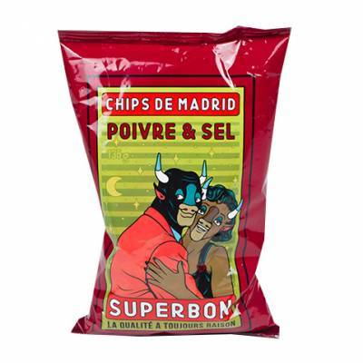 6950 - Superbon Chips Salt & Pepper 145 gram