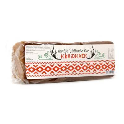 4343 - Jan Bax warm nordic hollands kruidkoek 500 gram