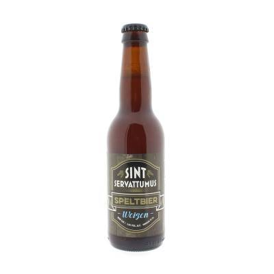 5261 - Sint Servattumus speltbier weizen fles 33 cl 330 ml