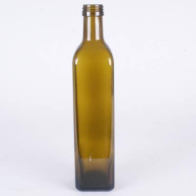 5507 - Verp Glaswerk Flessen fles maraska groen 250 ml 1 stuk