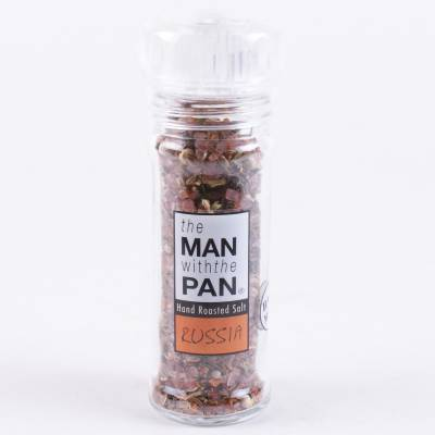 5904 - The Man with the Pan roasted salt russia met molen 90 gram