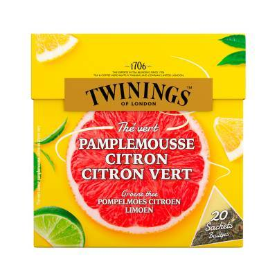 6094 - Twinings grapefruit lemon & lime 20 TB