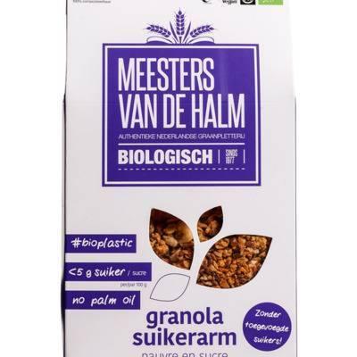 6572 - De Halm granola suikerarm 350 gram