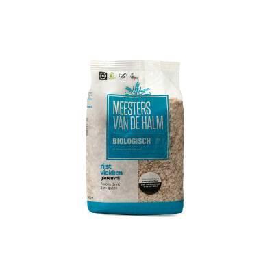 6593 - De Halm rijstvlokken glutenvrij 500 gram
