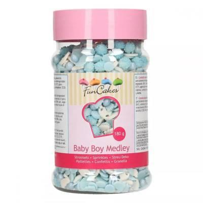 6880 - FunCakes sprinkle medley baby boy 180 gr