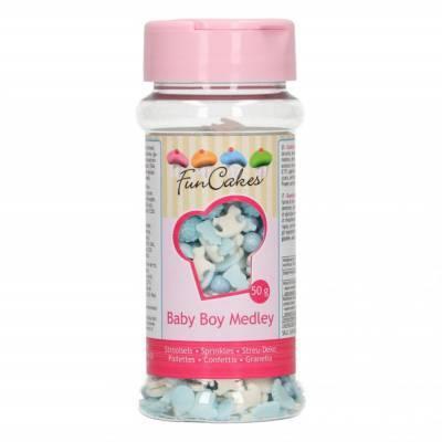 6882 - FunCakes sprinkle medley baby boy 50 gr